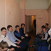 На старте - ученики 8 класса Технического лицея (Псков)!