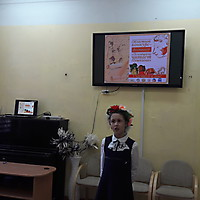Елизавета Леончук читает Пушкина на белорусском языке