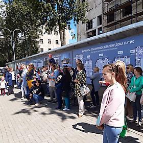 Зрители, они же - родители, воспитатели и гости ганзейского Пскова