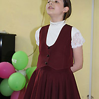 Анстасия Коледина читает стихотворение С.Золотцева