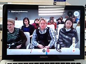 Рабочие моменты конференции.Витебск