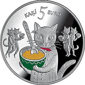 Монета 5 евро