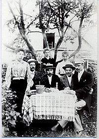 Фотографии и документы. Сестры и братья А. Кроненбергса
