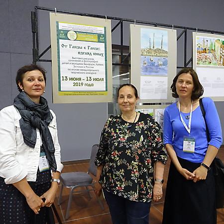 Гости из Риги на выставке в  СРП
