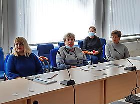 Специалисты ОСП - Псковской областной специальной библиотеки для незрячих и слабовидящих