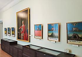 Общий вид музейной экспозиции