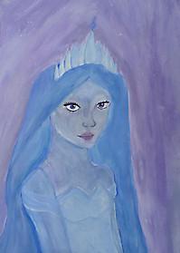 Софья Струкова, 12 лет, рисунок «Снежная королева»